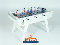 Baby foot Stella Bonzini B90 Champion Star Home Club: baby foot stella blanc
