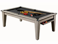 Billard table premier prix supreme dpt superleague: Billard table york ligne tendance tapis noir laine