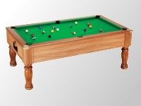Billard table premier prix supreme dpt superleague: Billard 8 pool elegance monarch 7 pieds tapis vert teinte noyer clair.