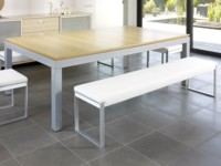 billard table de salle a manger: Billard Aramith Fusion chêne claire transformable en table