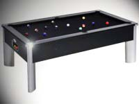 Billard pour café et collectivité: Billard monarch fusion domestic tapis noir