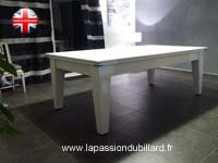 Billard Supreme Dpt Superleague Lafuge Rene Pierre eurobillard Toulet: Billard york blanc plateau table 2 parties.