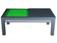billard table: Billard table Manchester noir tapis vert