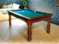 billard table lafuge: Billard francais Manoir kotibe massif acajou