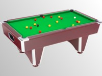 Billard Supreme Dpt Superleague Lafuge Rene Pierre eurobillard Toulet: billard domestic pool country sans monnayeur marron tapis vert