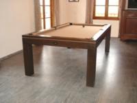 Billard table billard design eos convertible en table de for Table de billard transformable en table de salle a manger