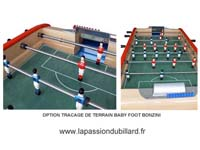 Option tracé du terrain pou baby foot Bonzini b90.